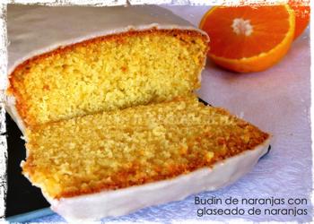 Budín de naranja